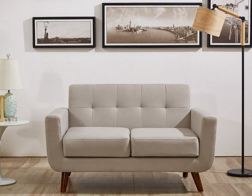 Johnston Upholstered Sofa Loveseat