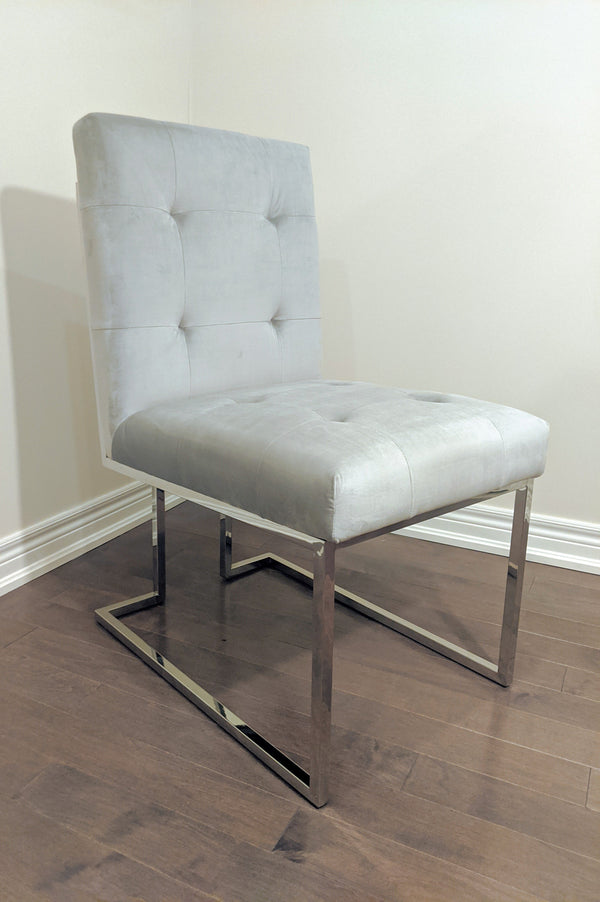 Somerset Side/Dining Chair - Chrome Legs