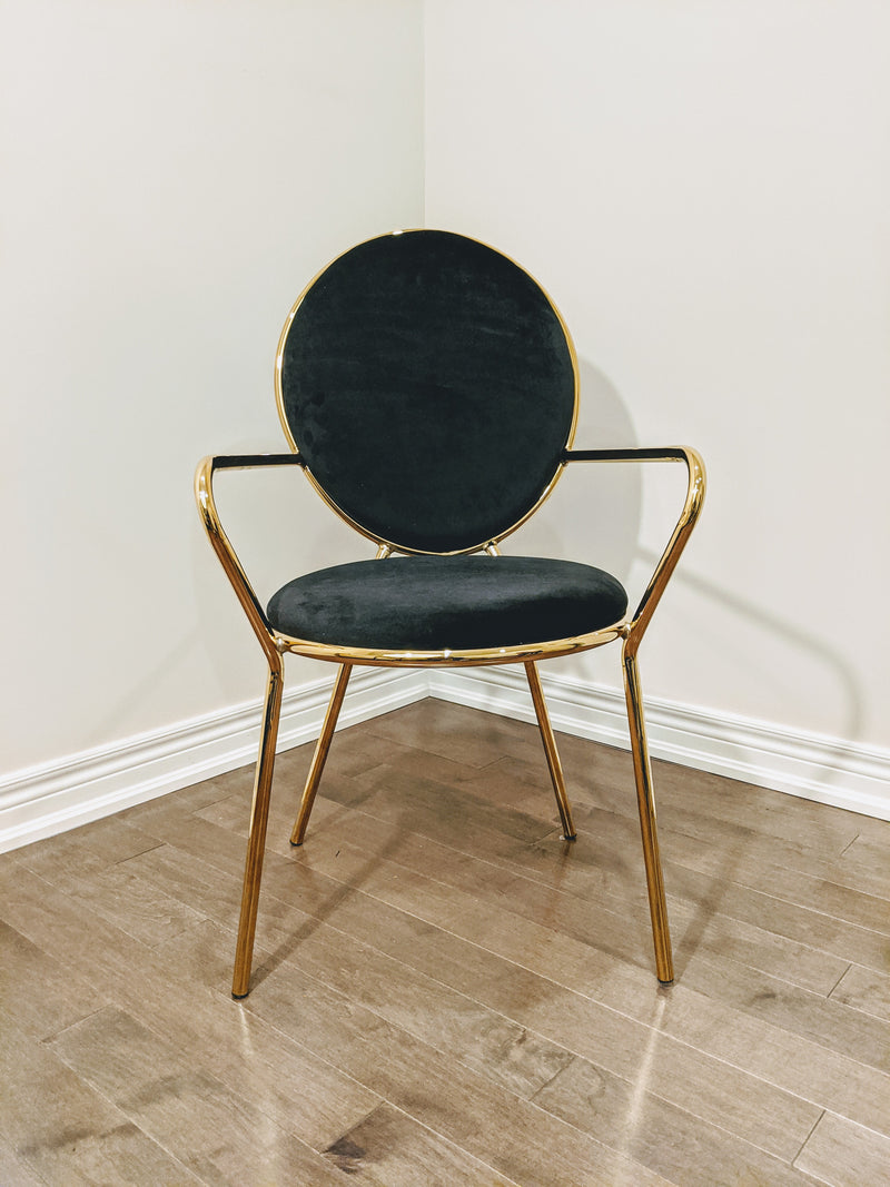 Columbia Golden Legs Dining Chair