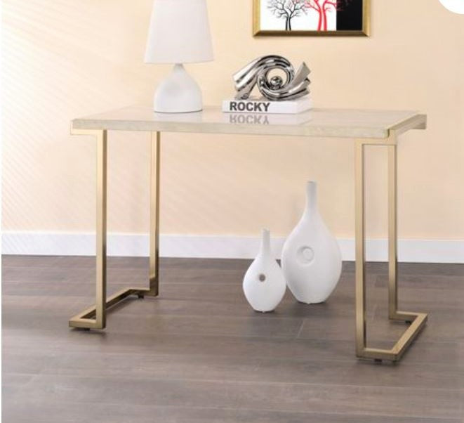 MIKO GOLDEN CONSOLE TABLE