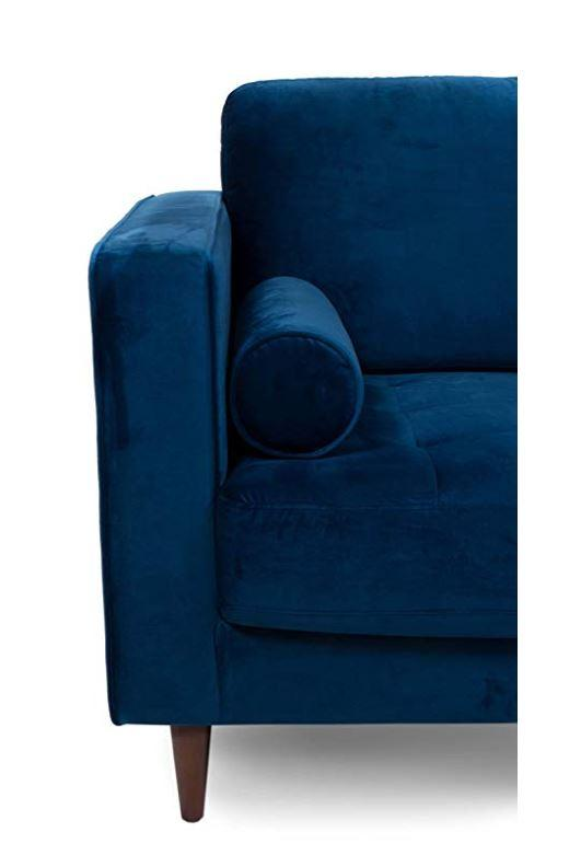 Canberra Velvet Accent Chair