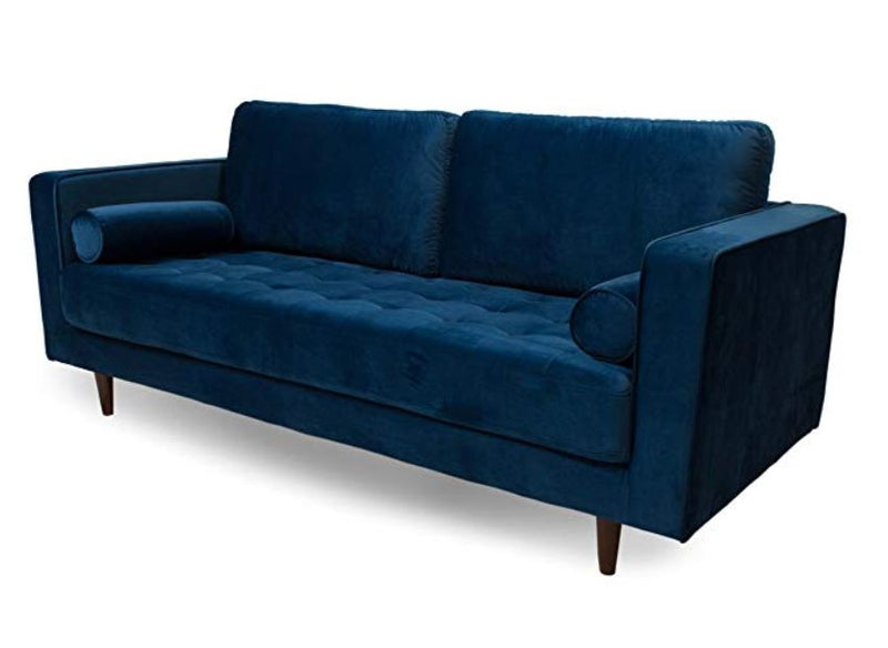 Canberra Mid Century Upholstered Sofa