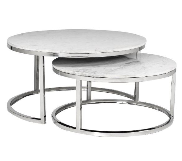Coventry Chrome Legs Nesting Tables