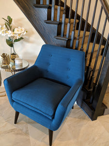 Surprising Colette Mid Century Accent Arm Chair Kraftsmen Furniture Co Ocoug Best Dining Table And Chair Ideas Images Ocougorg