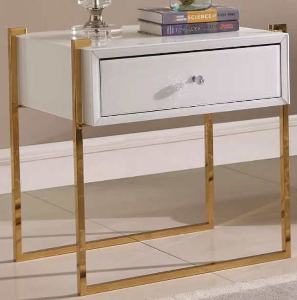 CHI GOLDEN NIGHTSTAND / SIDE TABLE