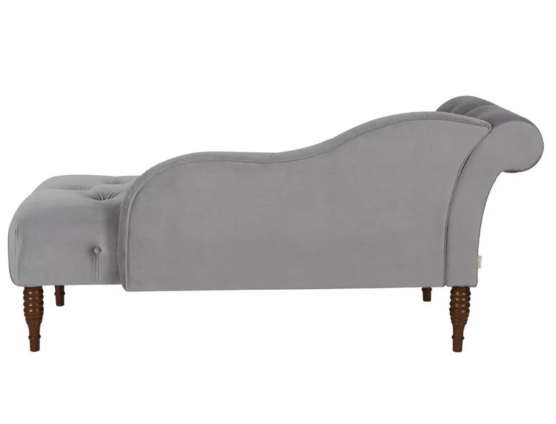 Christo Velvet Chaise Lounge