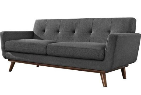 Johnston Mid Century Modern Upholstered Sofa
