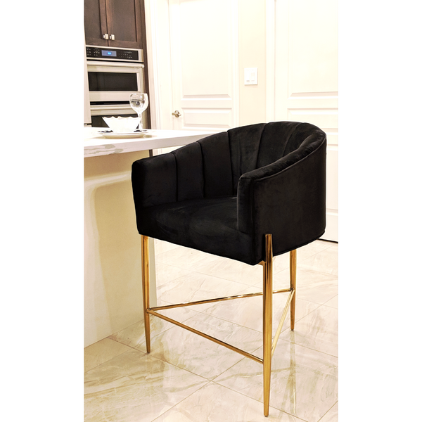 MACAU GOLDEN LEGS BAR STOOL