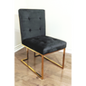 SOMERSET GOLDEN LEGS SIDE/DINING CHAIR