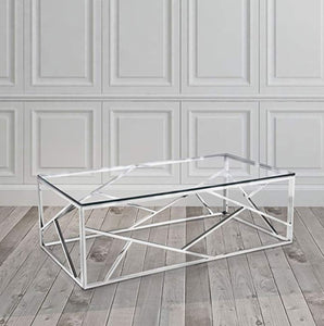 Sydney Chrome Stainless Steel Coffee Table