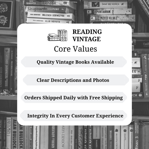 core values vintage good books to read bookstore