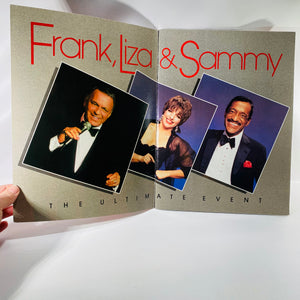 Frank Liz & Sammy The Ultimate Event Playbook from their Eleven City Tour in 1988