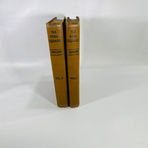 The Steel Square: A Practiced Treaty Volume 1 and 2 by Fred T. Hodgson 1927