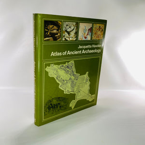 Atlas of Ancient Archaeology by Jacquetta Hawkes 1974-Reading Vintage