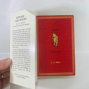 Winnie-the-Pooh by A.A.Milne 1961  E.P. Dutton & Co-Reading Vintage