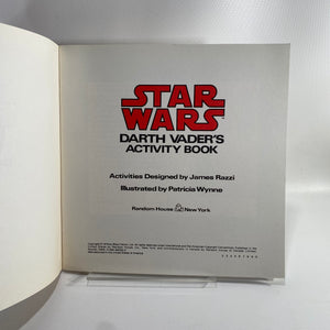 Star Wars Activity Books from 1979