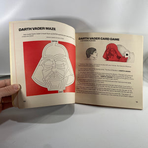 Star Wars Darth Vader's Activity Book by Scholastic Book Services 1979
