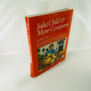 Julia Child & More Company by Julia Child 1970-Reading Vintage