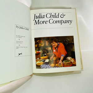 Julia Child & More Company by Julia Child 1979 Alfred A. Knopf