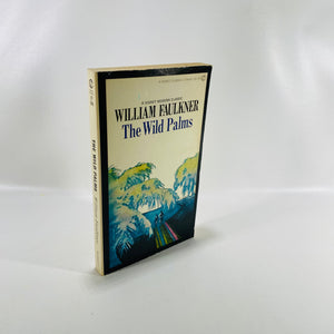 The Wild Palms by Willliam Faulkner Paperback 1968-Reading Vintage