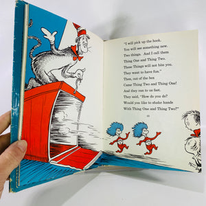 The Cat in the Hat by Dr. Seuss 1957 Random House-Reading Vintage