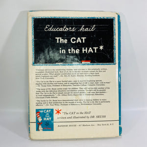 The Cat in the Hat by Dr. Seuss 1957 Random House-Reading VintageThe Cat in the Hat by Dr. Seuss 1957 Random House-Reading Vintage