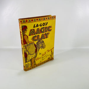 La-Lo's Magic Clay by Mary H Thompson First Ed 1946 -Reading Vintage