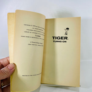 Tiger Turns On #2 by Bud Blake 1970 Grosset & Dunlap-Reading Vintage