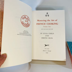 Mastering the Art of French Cooking by Julia Child-Reading Vintage