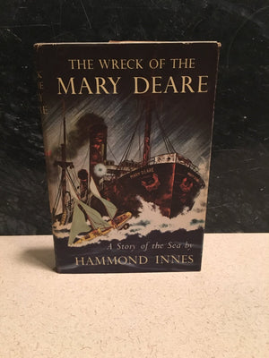 The Wreck of the  Mary Deare A Story of the Hammond Innes by  Alfred A Knopf  1956 Vintage Book