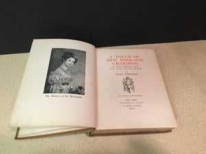 A Touch of New England By Mary Woodman 1903 First Edition Vintage Book