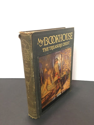 The Treasure Chest of My BookHouse Volume 4 Edited by Olive Beaupre Miller 1920 Vintage Book