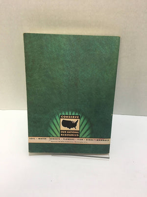 National Wildlife Federation Pamphlet Plants and Animals Live Together Book Three 1953  Vintage Book