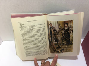 Dombey and Son by Charles Dickens-1957 Featuring 12 Color Plates Published by Heritage Press Vintage Book