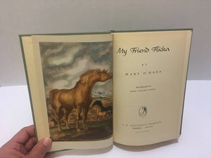 My Friend Flicka by Mary O'Hara 1941 Vintage Book