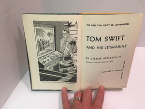 1954 -Tom Swift and His Jetmarine #2 by Victor Appleton A Vintage Book
