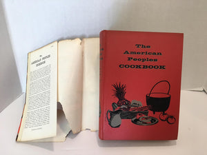 Vintage Cookbook American Peoples Cookbook by Staff of the Culinary Arts Institute 1956  Vintage Book