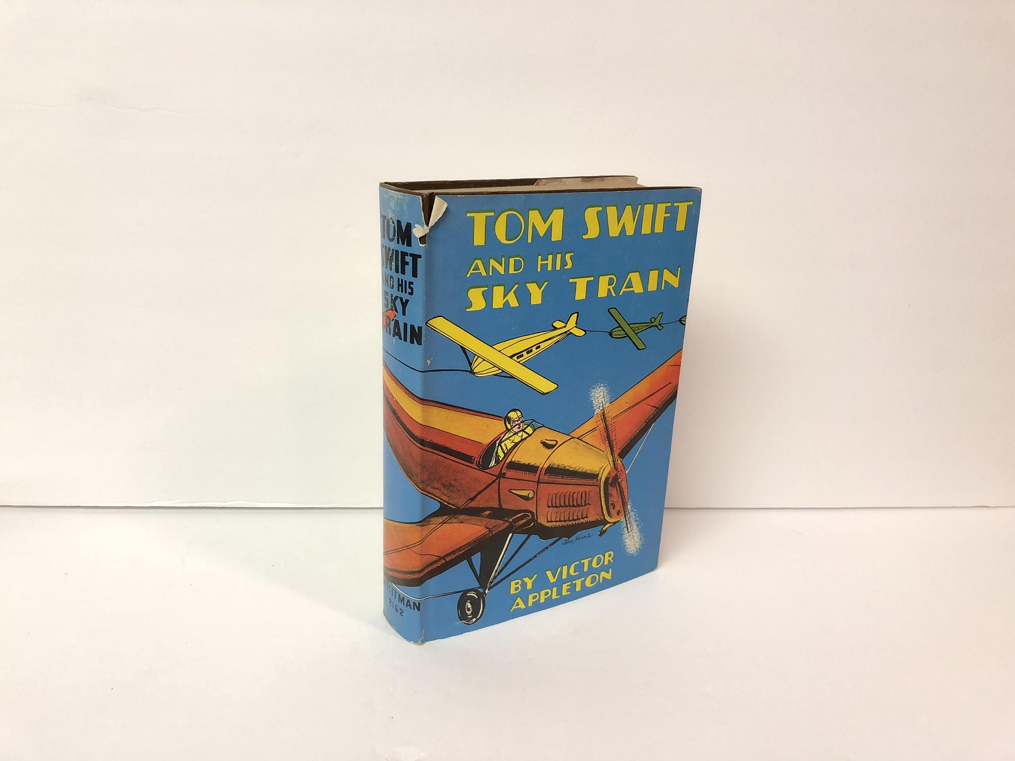 Tom Swift and His Sky Train or Overland Through the Clouds Book Number 34 by Victor Appleton-1931 With Original Dust Jacket Vintage Book