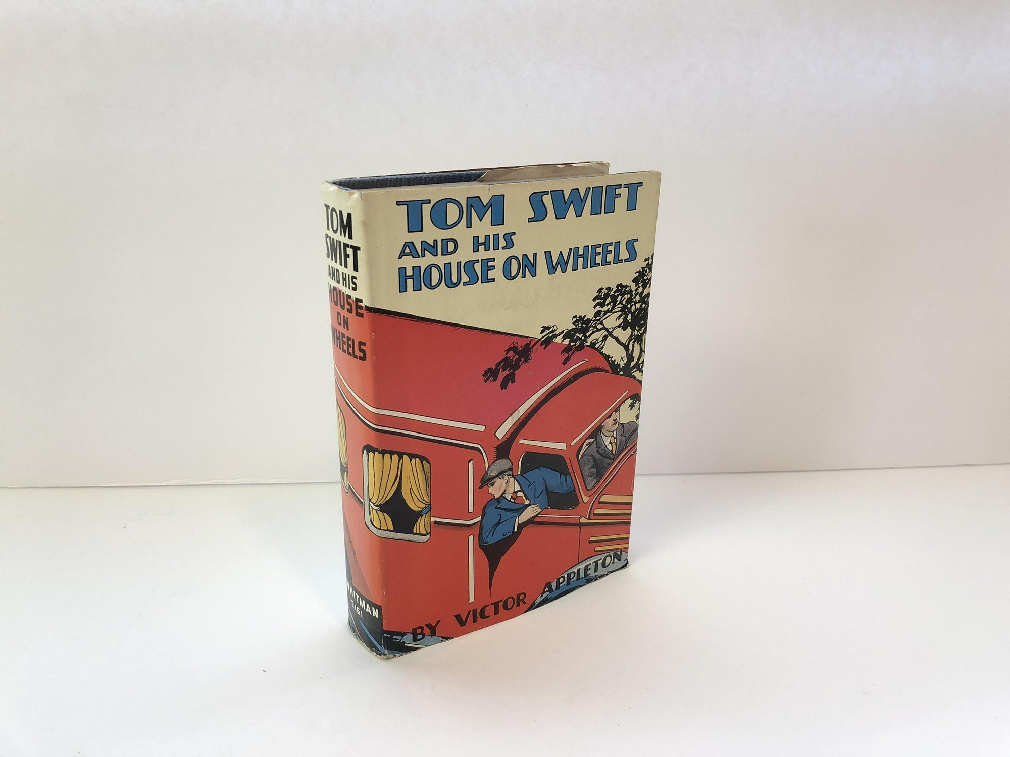 Tom Swift and His House of Wheels #34  or A Trip Around the Mountain of Mystery By Victor Appleton 1929 Original Dust JacketVintage Book