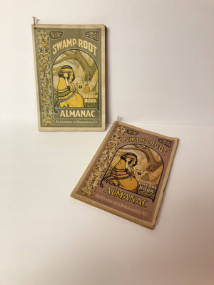 2 Vintage Advertizing Swamp-Root Dream Book Almanac Dr Kilmer & Co Weather Forecasts, Horoscopes and Dream Book for the Years  1938 and 1940