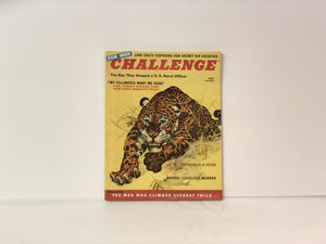 Vintage Challenge For Men's Magazine March 1958 Volume 4