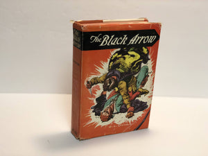 The Black Arrow by Robert Lewis Stevenson A Tale of the Two Roses 1926 with Original Dust Jacket Vintage Book