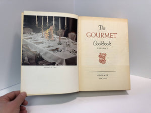 The Gourmet Cook Book Volume 1 by Gourmet Inc. 1962 Vintage Book