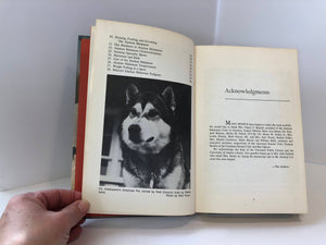The Complete Alaskan Malamute by Maxwell Riddle 1979 Vintage Book
