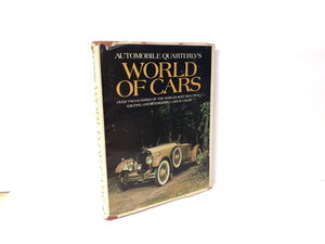 Automobile Quarterly's World of Cars -1971 First Edition Second Printing