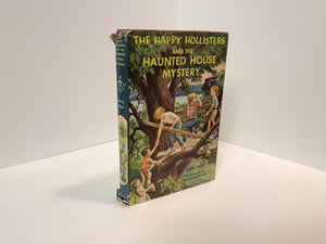 The Happy Hollisters and the Haunted House Mystery #21 by Jerry West 1962 Vintage Book