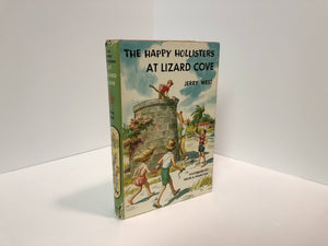The Happy Holllisters at Lizard Cove #13 by Jerry West 1957 Vintage Book