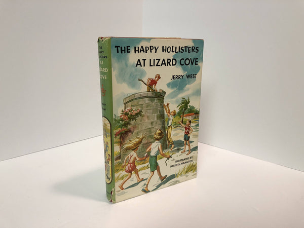 The Happy Holllisters at Lizard Cove #13 by Jerry West Illustrated By Helen S. Hamilton-1957