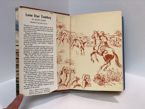 Lone Star Tomboy by Allyn Allen, Illustrated by Jane Castle-1951 Vintage Book