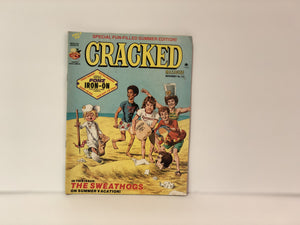 Cracked Mazagine No. 137 November 1976 Featuring The Sweat Hogs on Summer Vacation Also A Cracked Fonz Iron-On Special Fun-Filled Edition